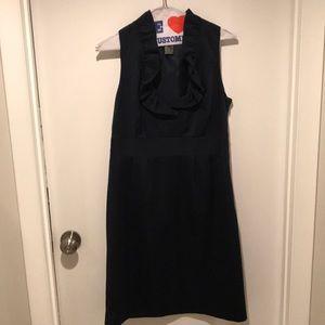 Ann Taylor navy day dress
